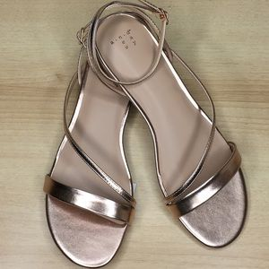 32d1a5a27fe6 a new day Shoes - A NEW DAY Rose Gold Isma Ankle Strap Sandals